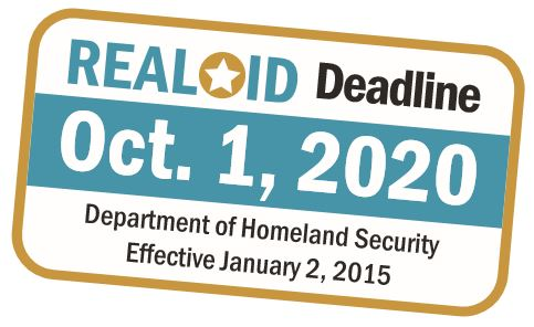 REAL ID Deadline Oct 2020