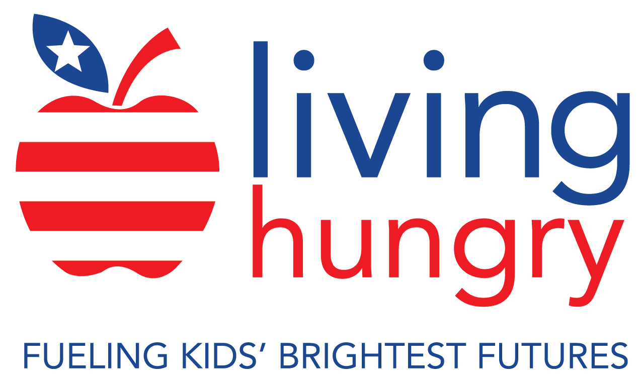 Living Hungry Fueling Kids' Brightest Futures logo