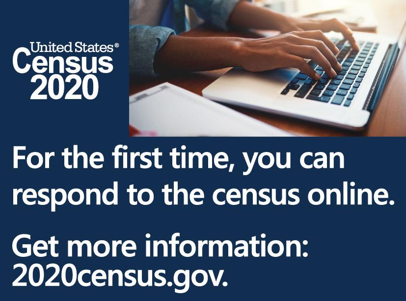Census 2020 visit 2020census.gov for more information