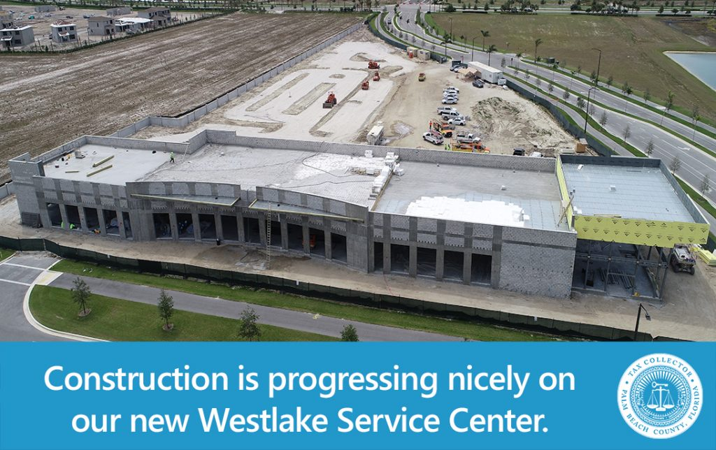 Westlake Service Center Progress