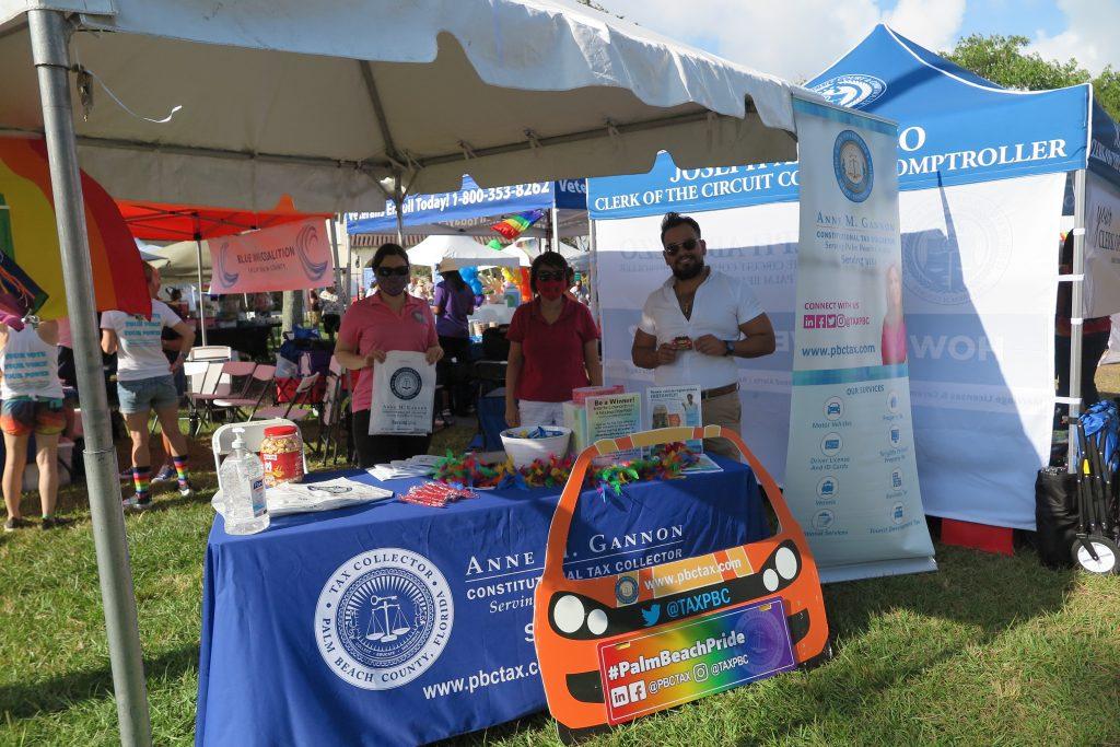 Team Photo At Palm Beach Pride