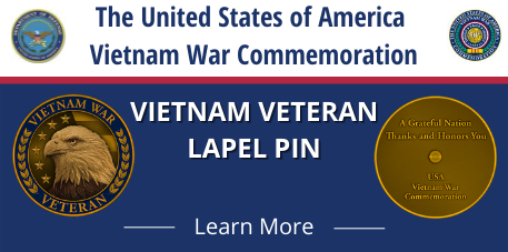 The United States of America Vietnam War Commemoration. Vietnam veteran Lapel Pin. Learn More